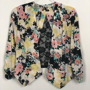 Charolette Russe | Floral Blazer